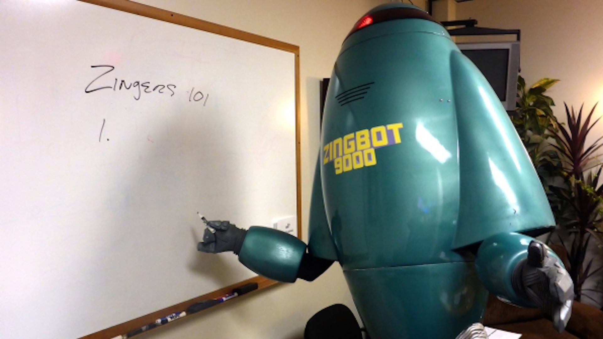 18. The Zingbot's funny disses
