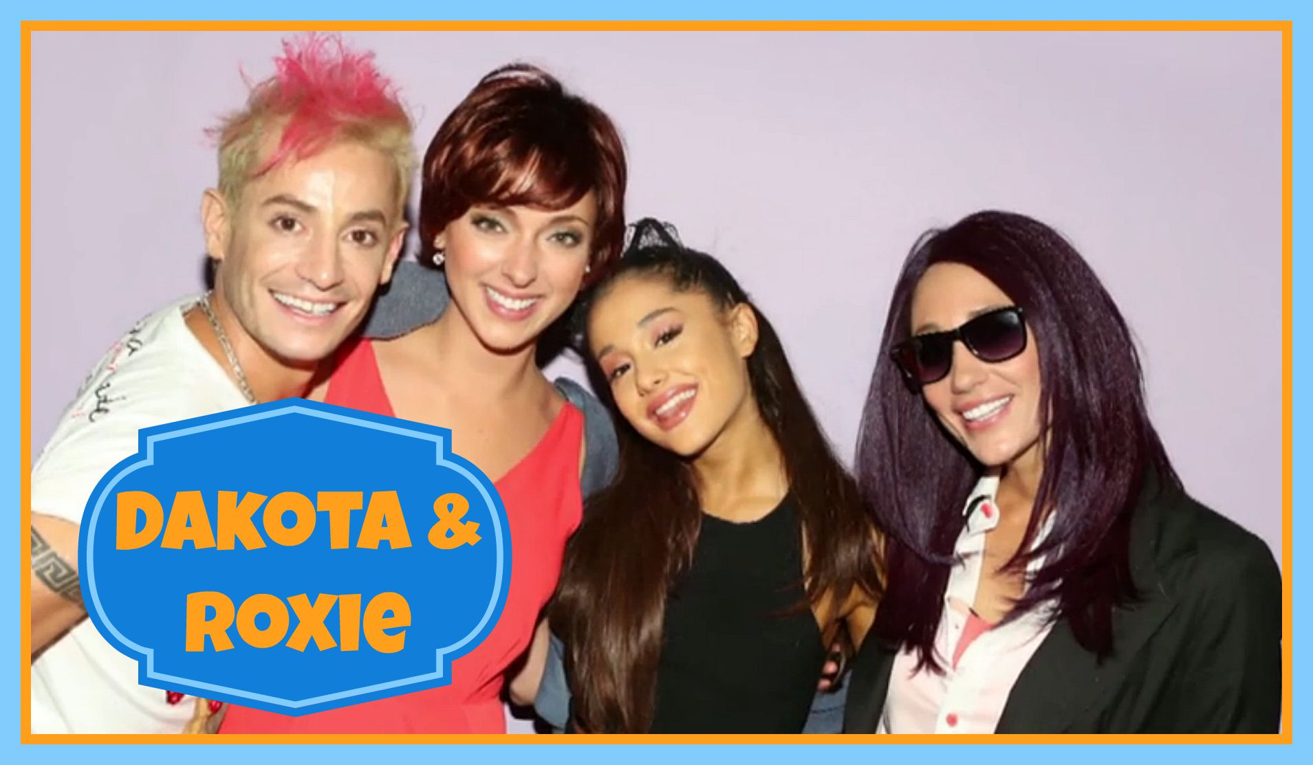Question: What were Vanessa and Liz's Ariana Grande alter-ego names?