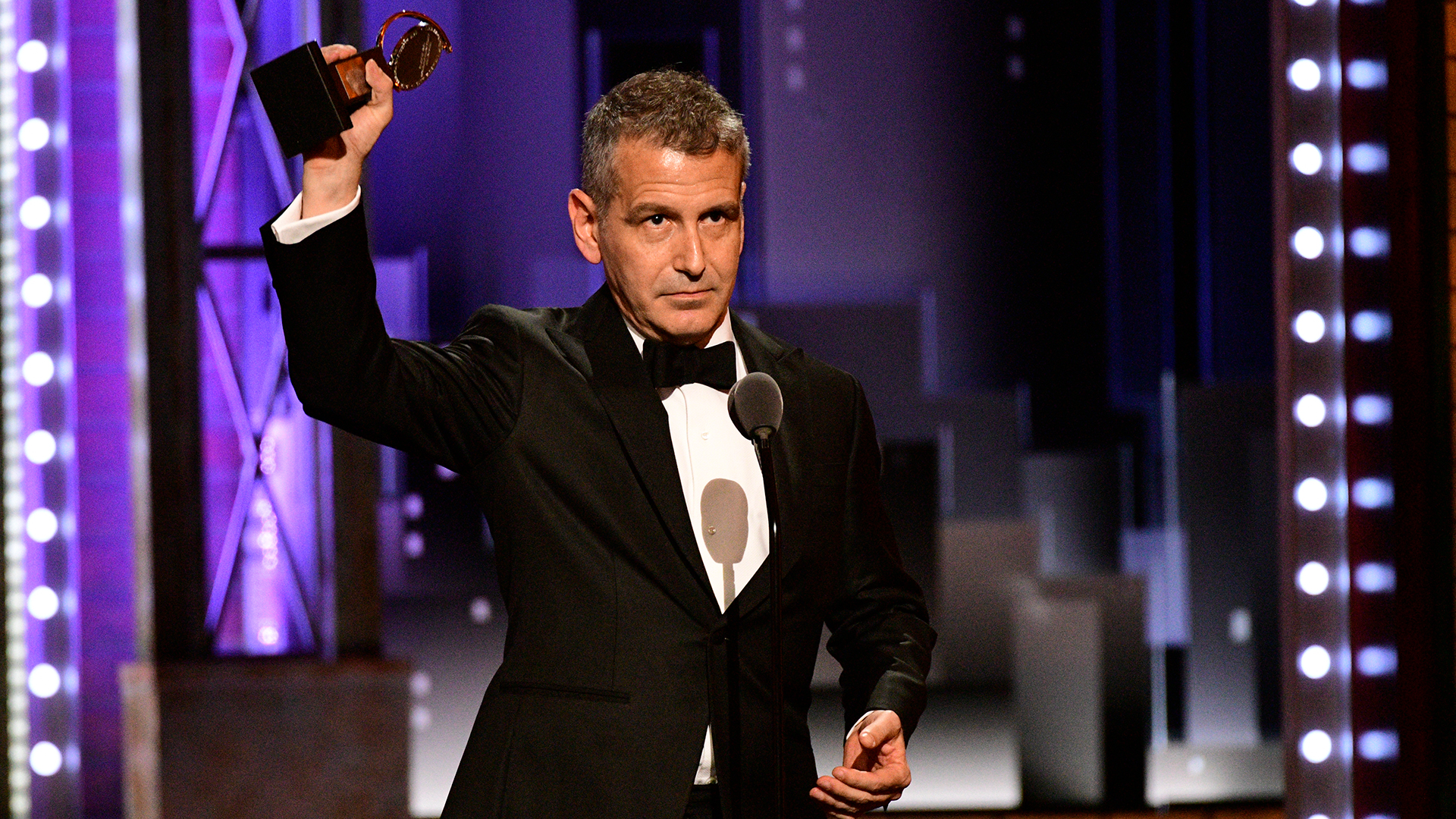 David Cromer wins Best Direction of a Musical at the 2018 Tony Awards.