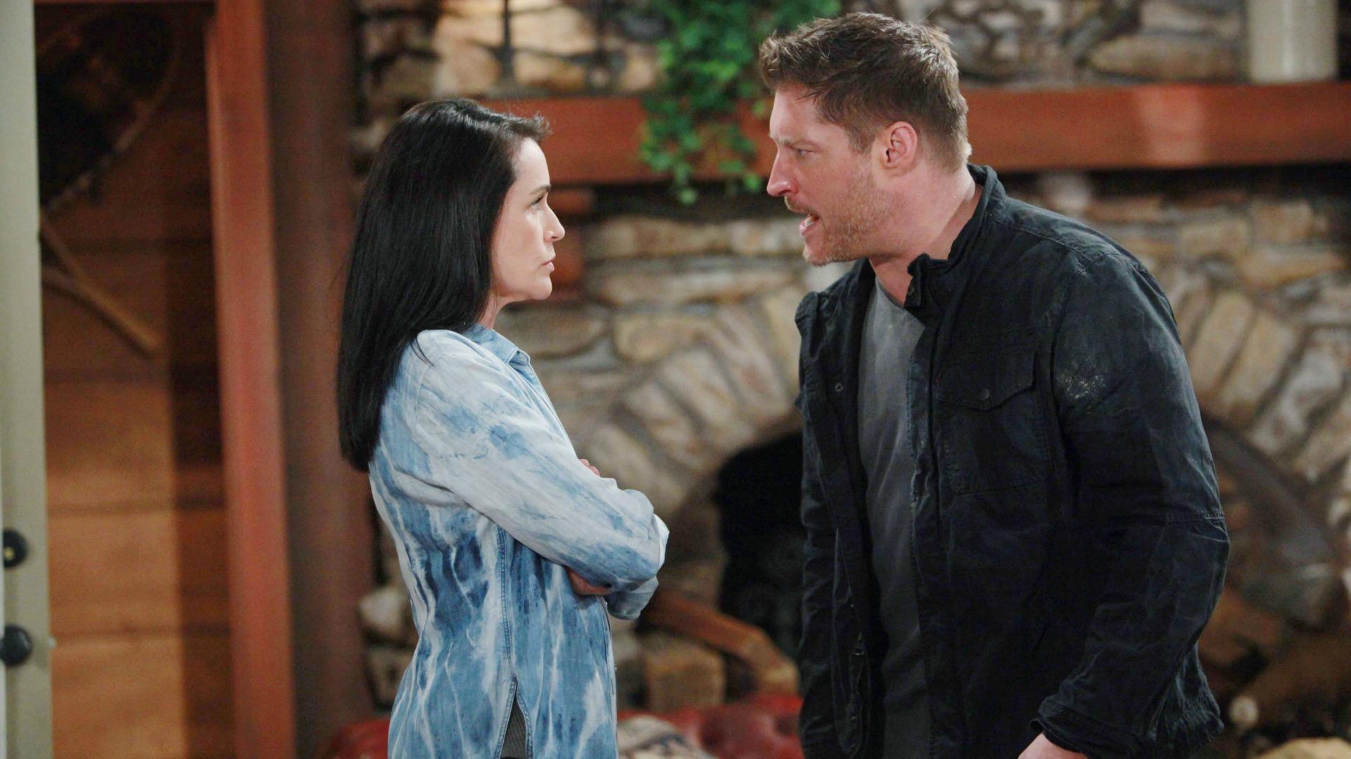 Deacon warns Quinn of the terror to come.