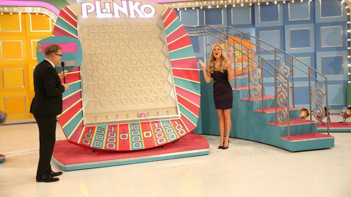 The first ever Plinko contestant scored big.