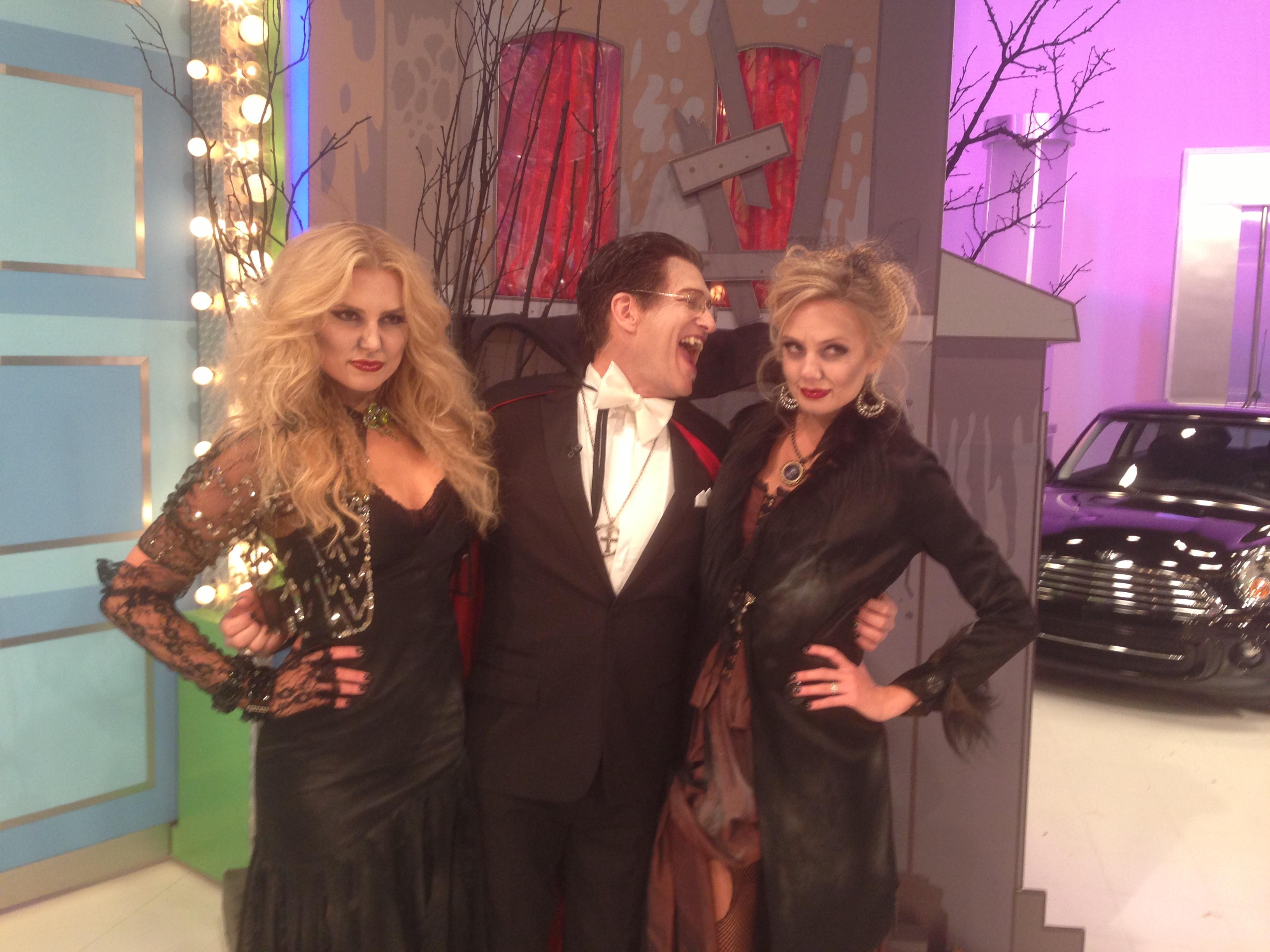 Drew, Rachel, and Melissa