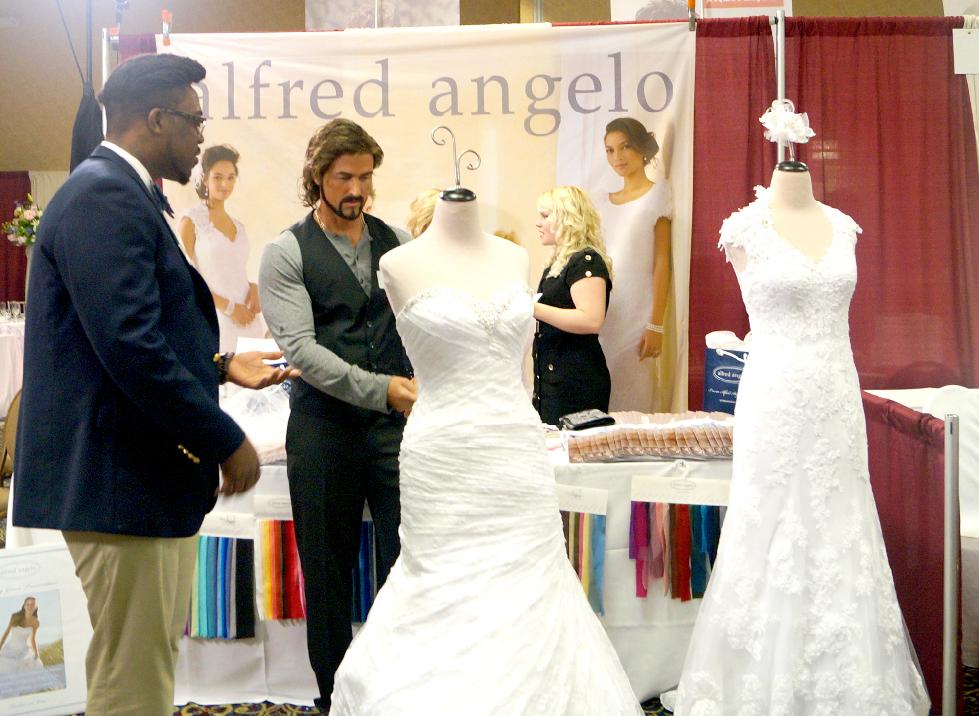 Working a bridal fair