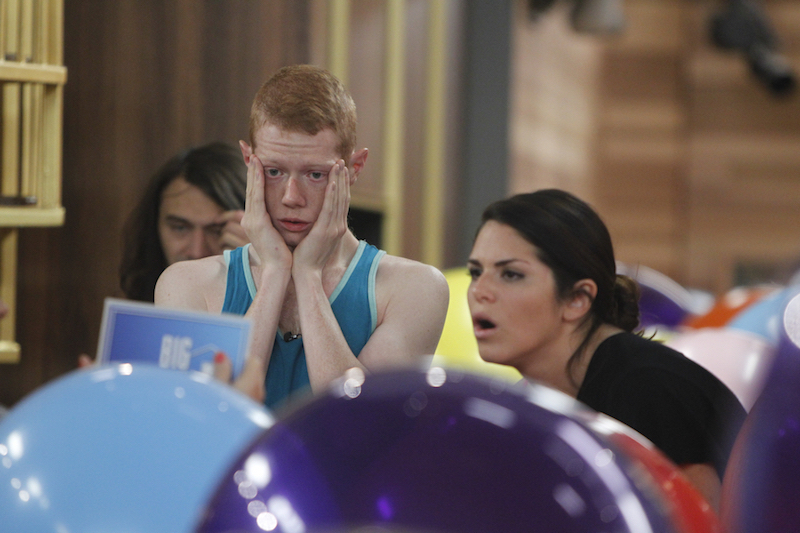 Big Brother 15: Andy votes out Amanda then frames Elissa