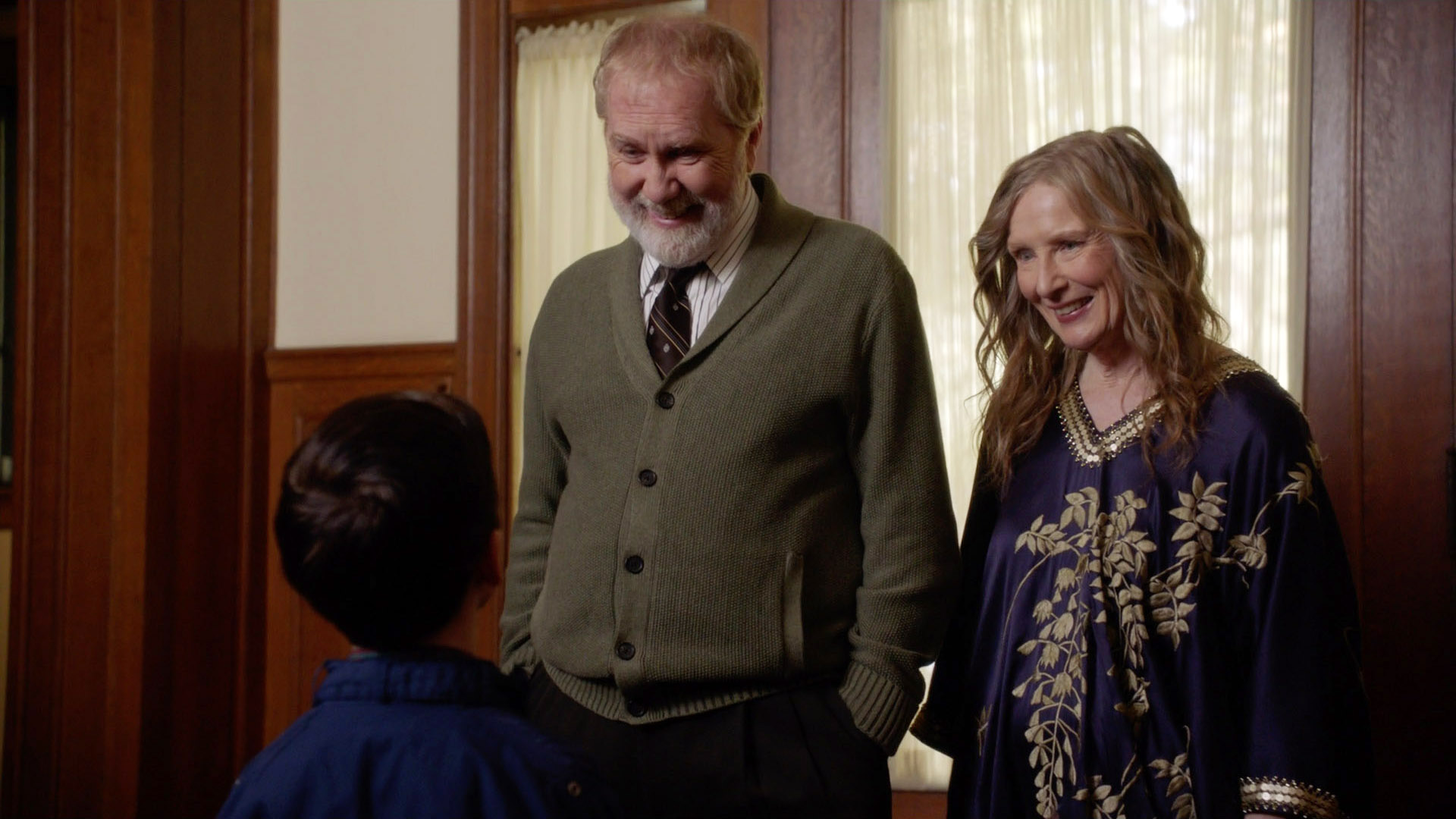 Harry Groener and Frances Conroy