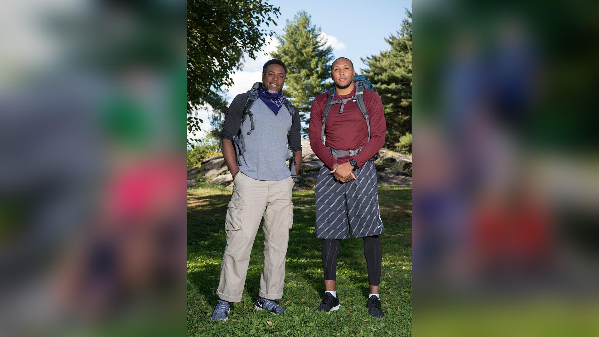 Cedric Ceballos and Shawn Marion (#TeamSlamDunk)
