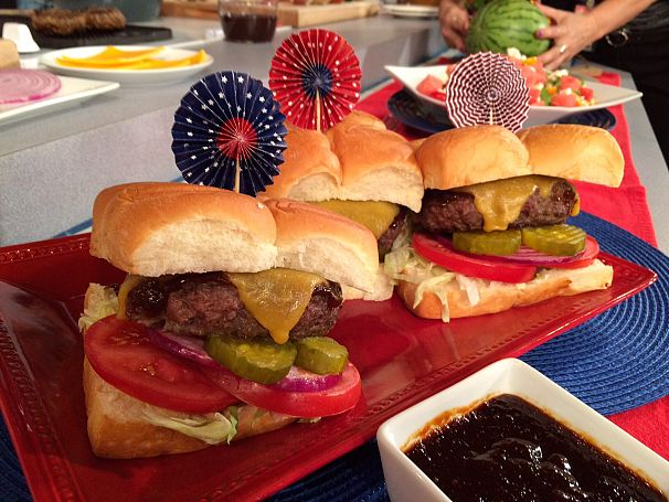 Eric Greenspan's All-American Butter Burgers