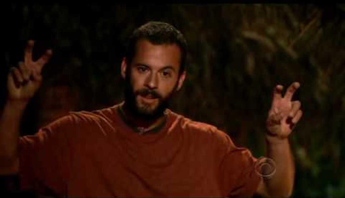 Erik Cardona's touching speech on Survivor: Samoa
