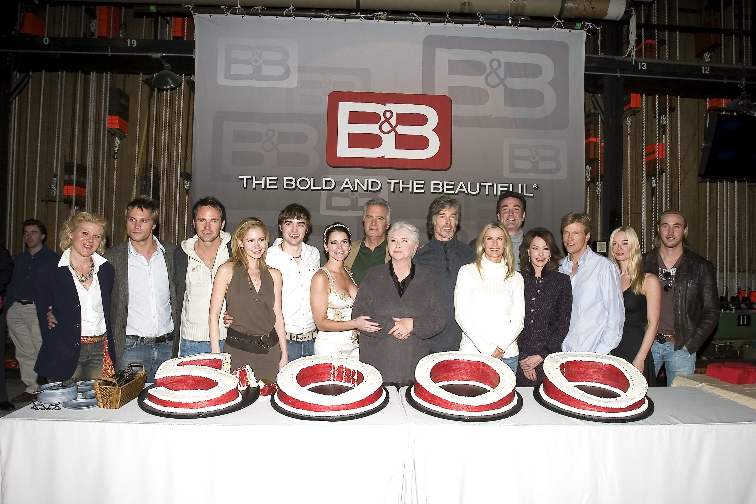 Whole lotta frosting: B&B toasts to 5,000 episodes.