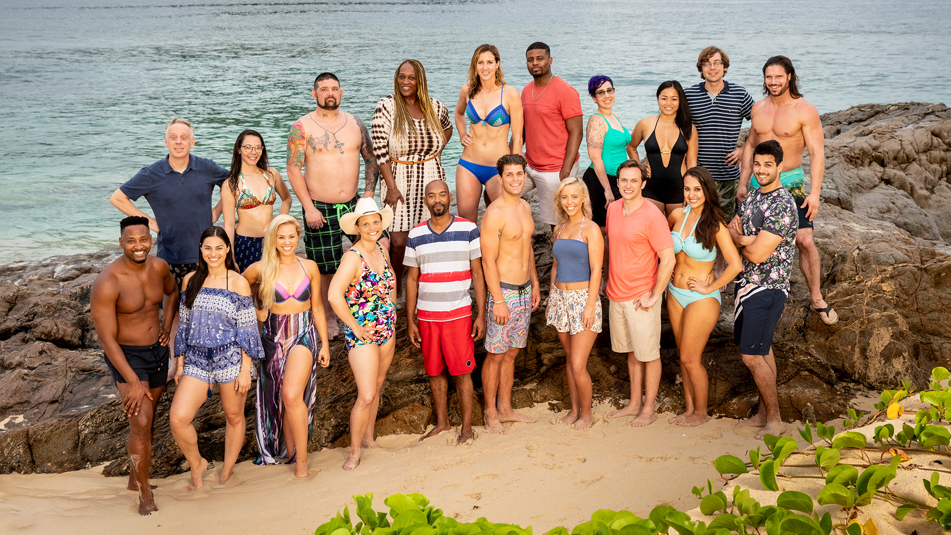 Meet the new castaways of David vs. Goliath