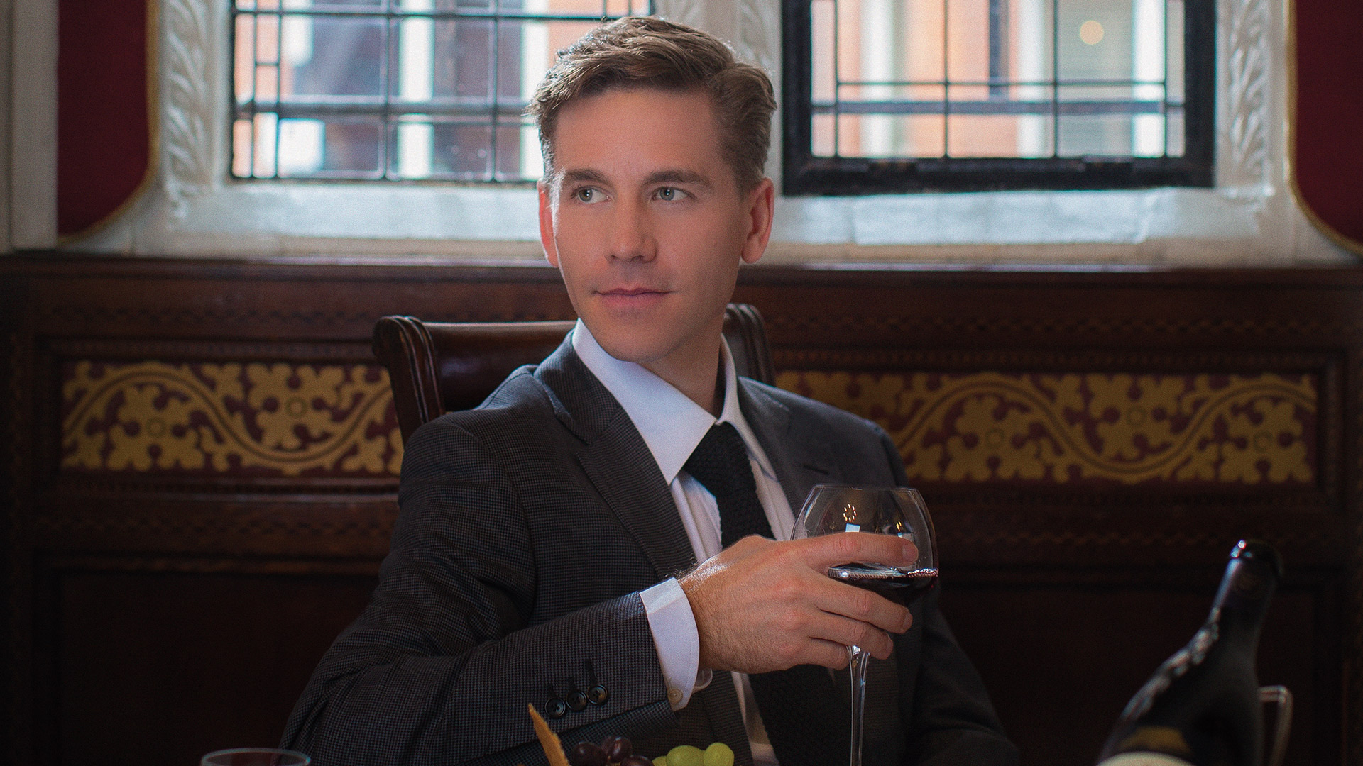 We'd wine and dine with Brian Dietzen anytime