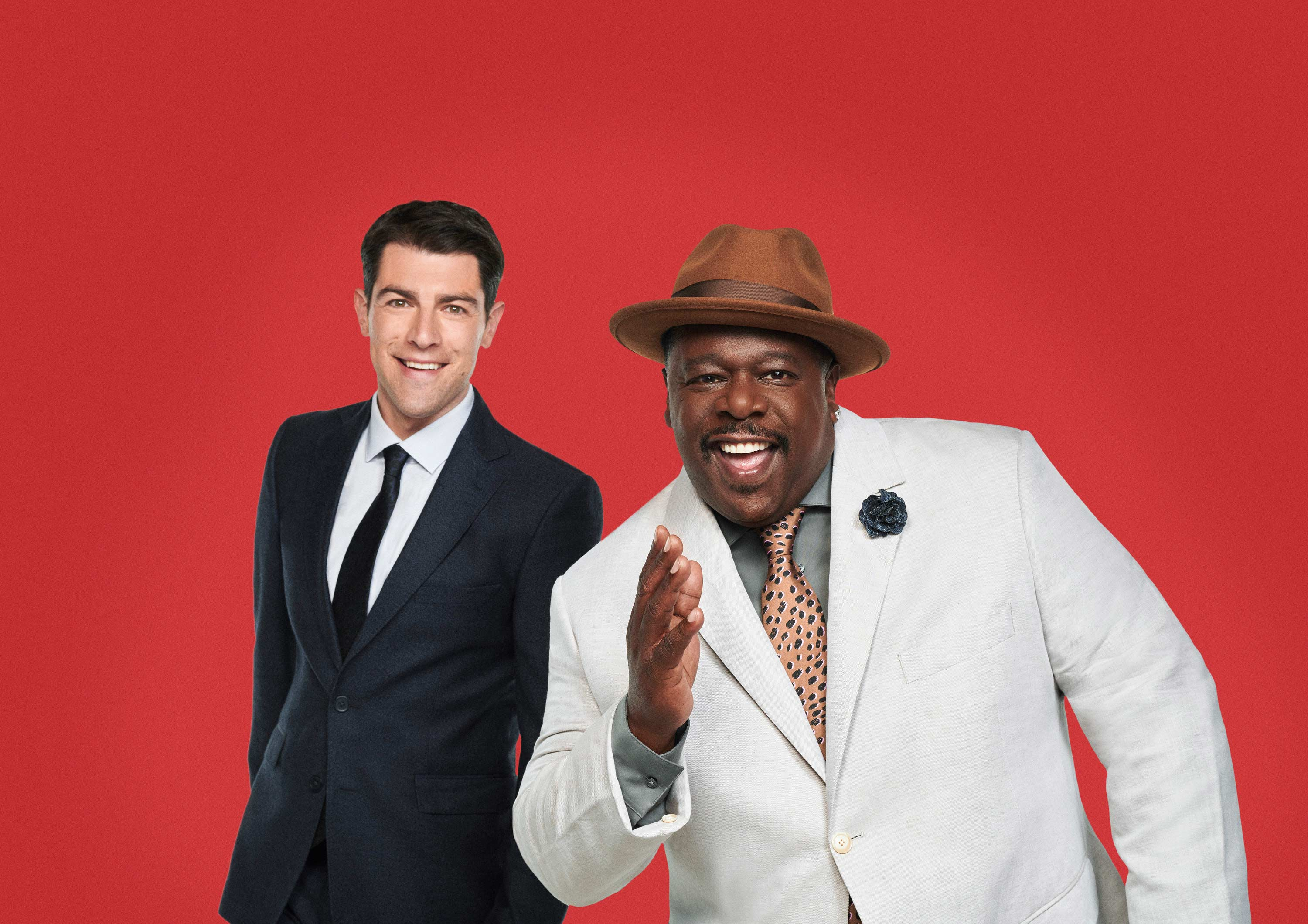 Cedric the Entertainer and Max Greenfield