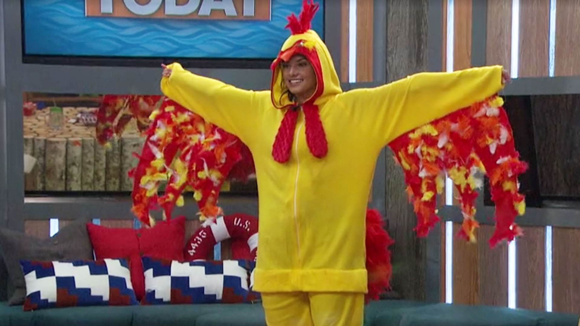 Chicken suit, a second helping