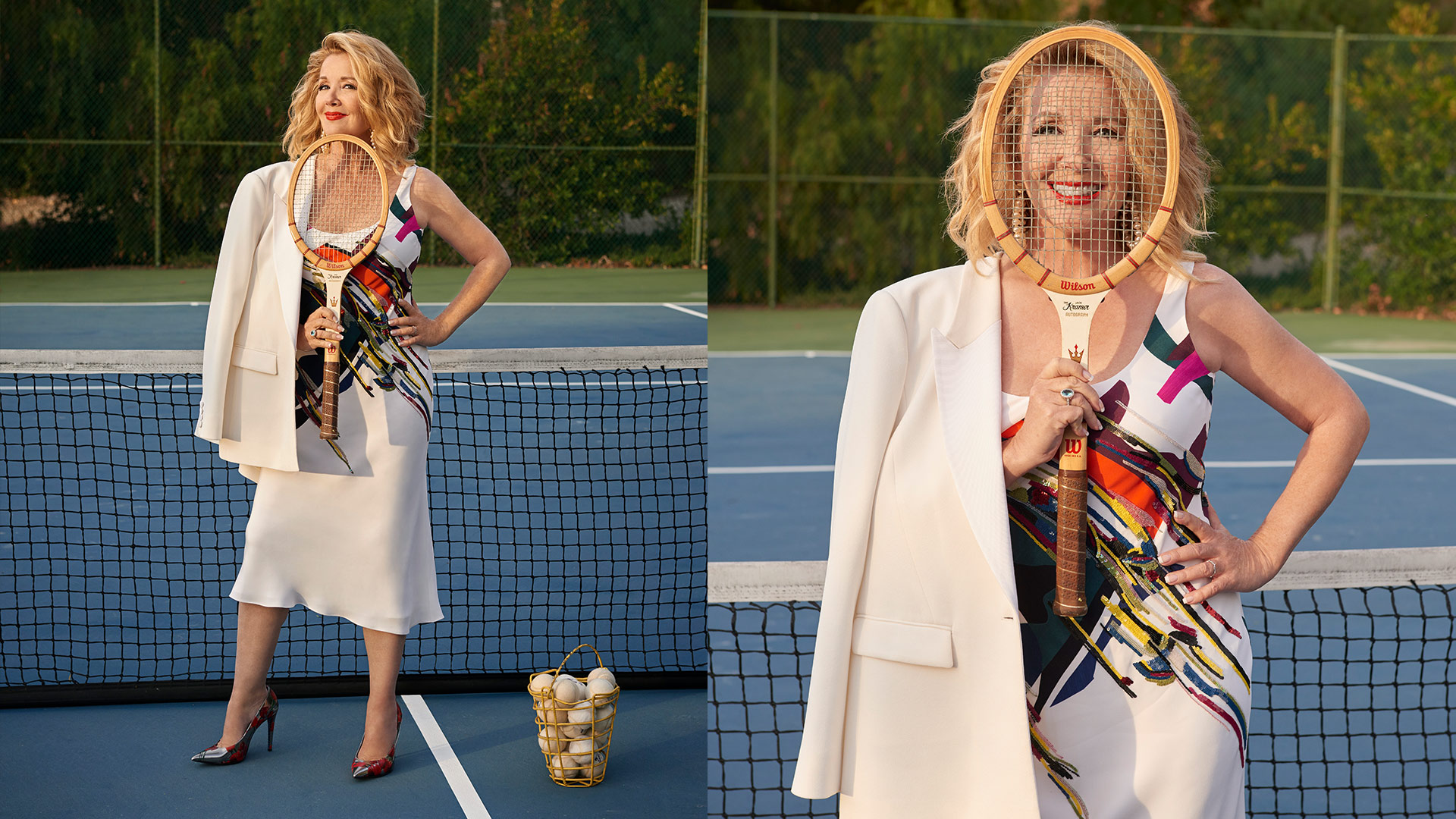 Melody Thomas Scott is game for summer glam