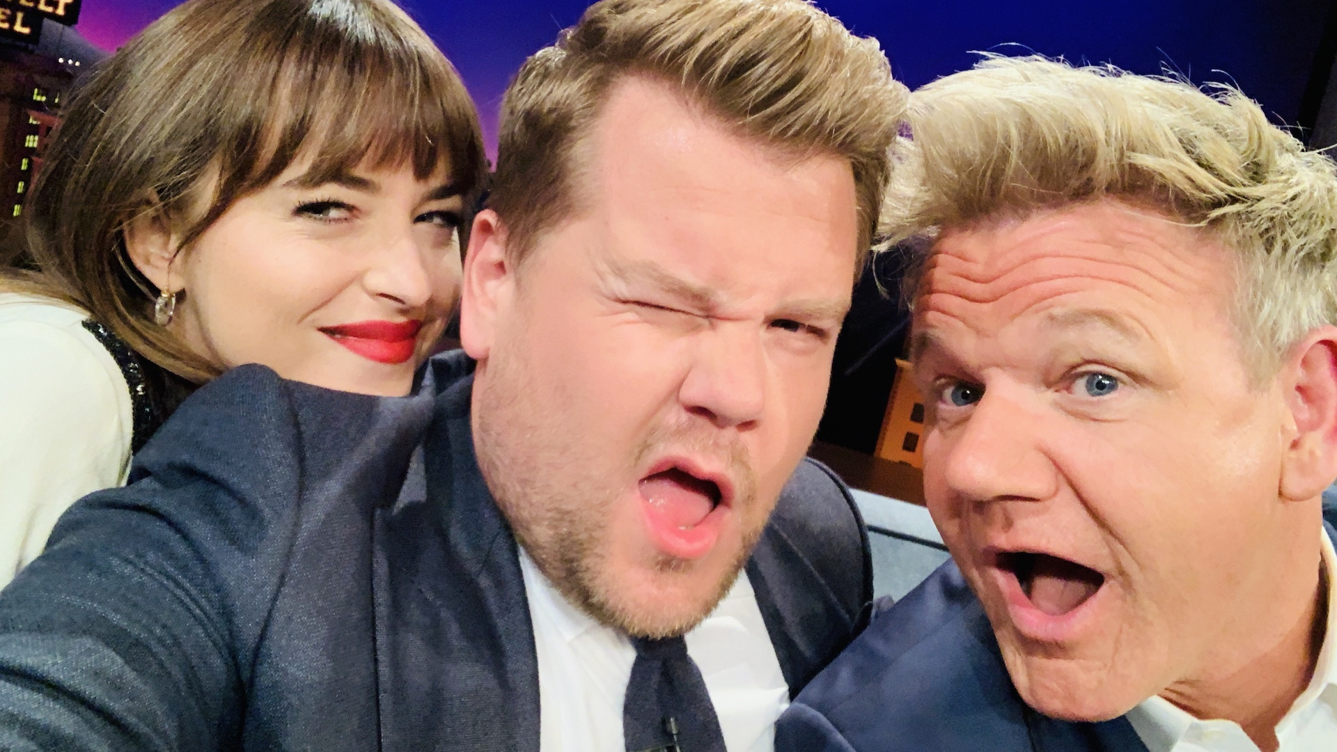 Dakota Johnson & Gordon Ramsay