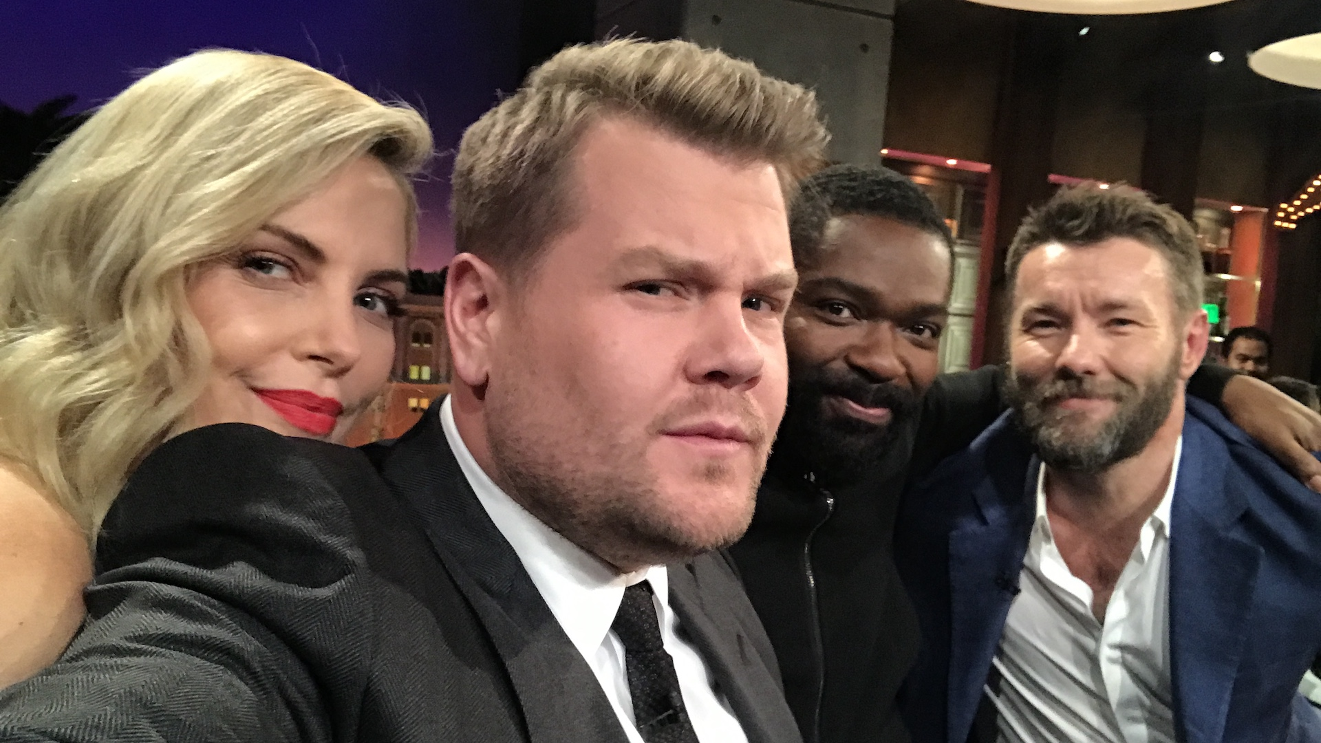 Charlize Theron, David Oyelowo & Joel Edgerton