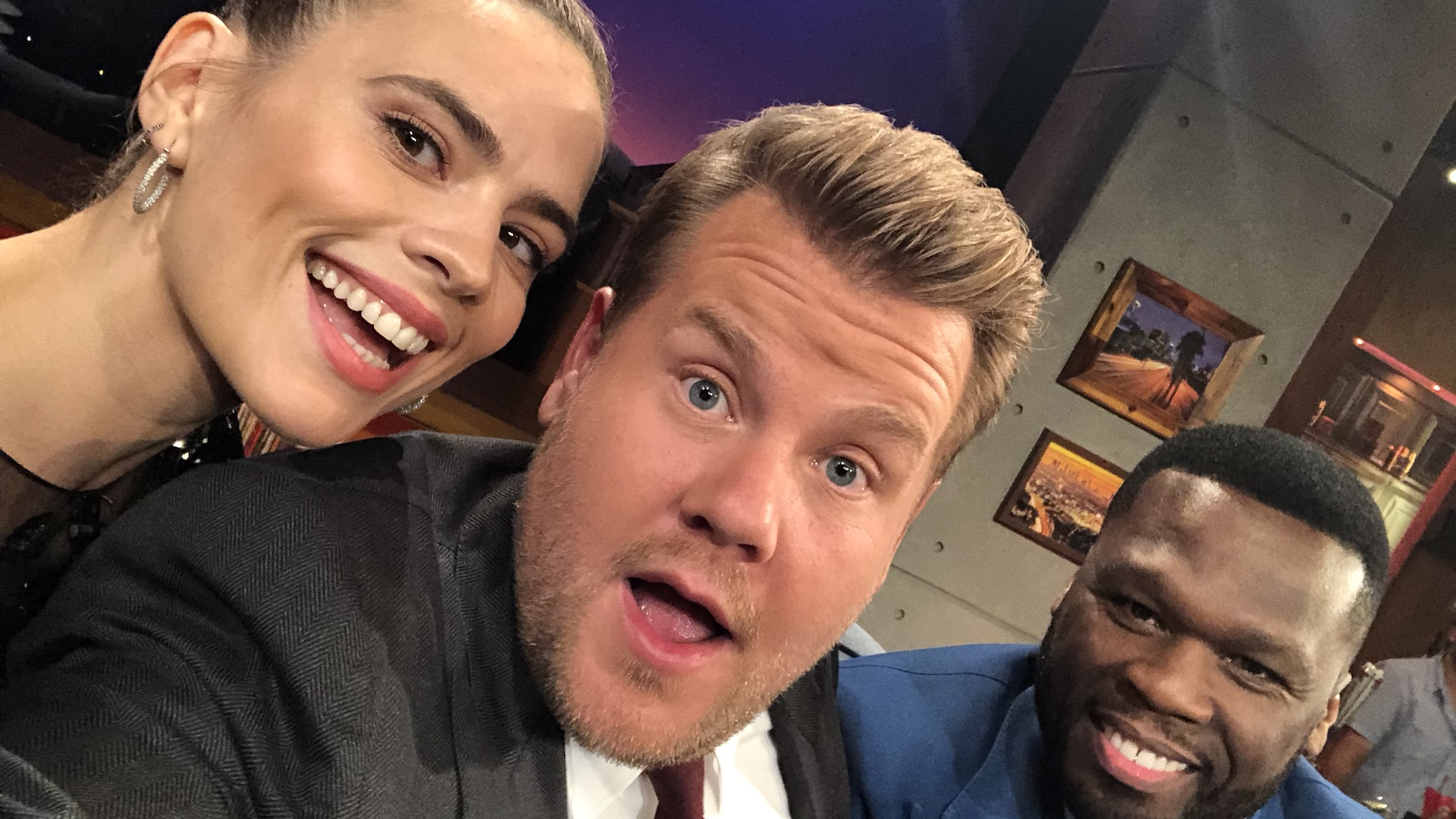 Hayley Atwell & 50 Cent