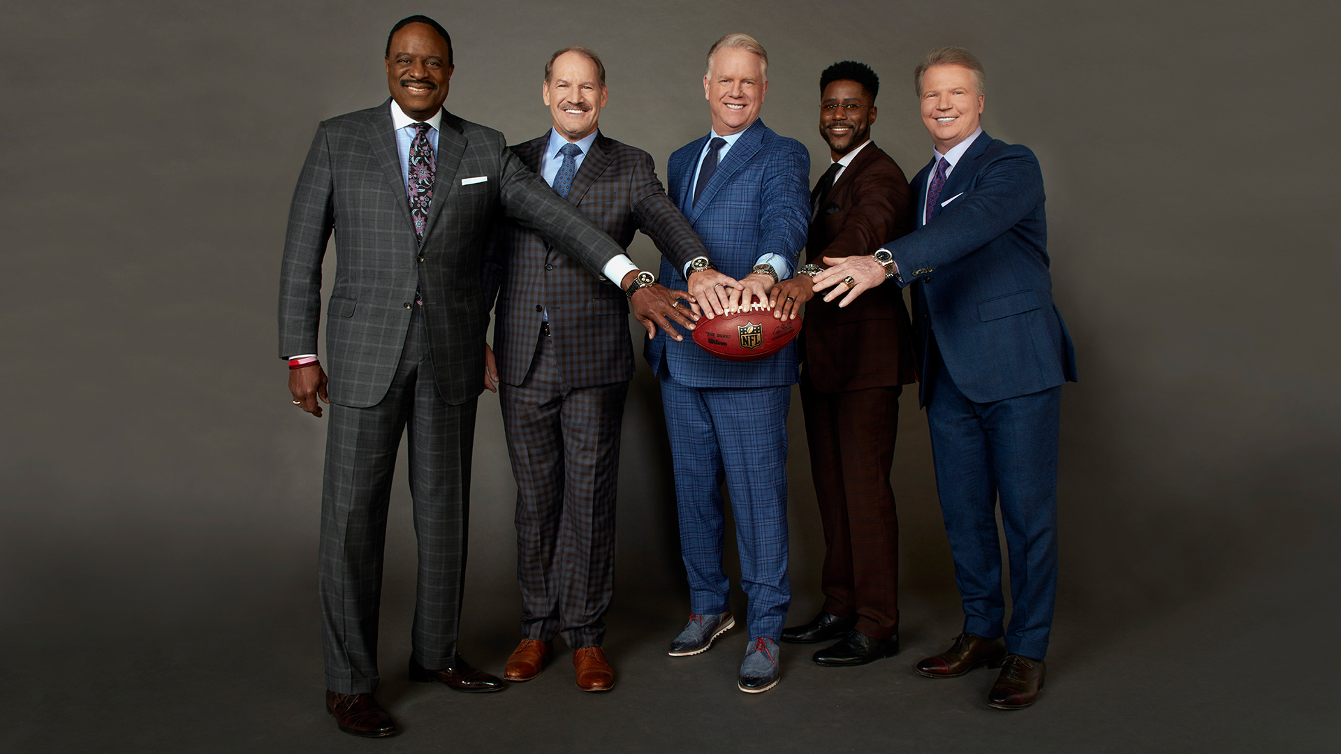 The Nfl Today Teammates Are Changing The Game And Making Football Fun Watch Magazine Photos Cbs Com