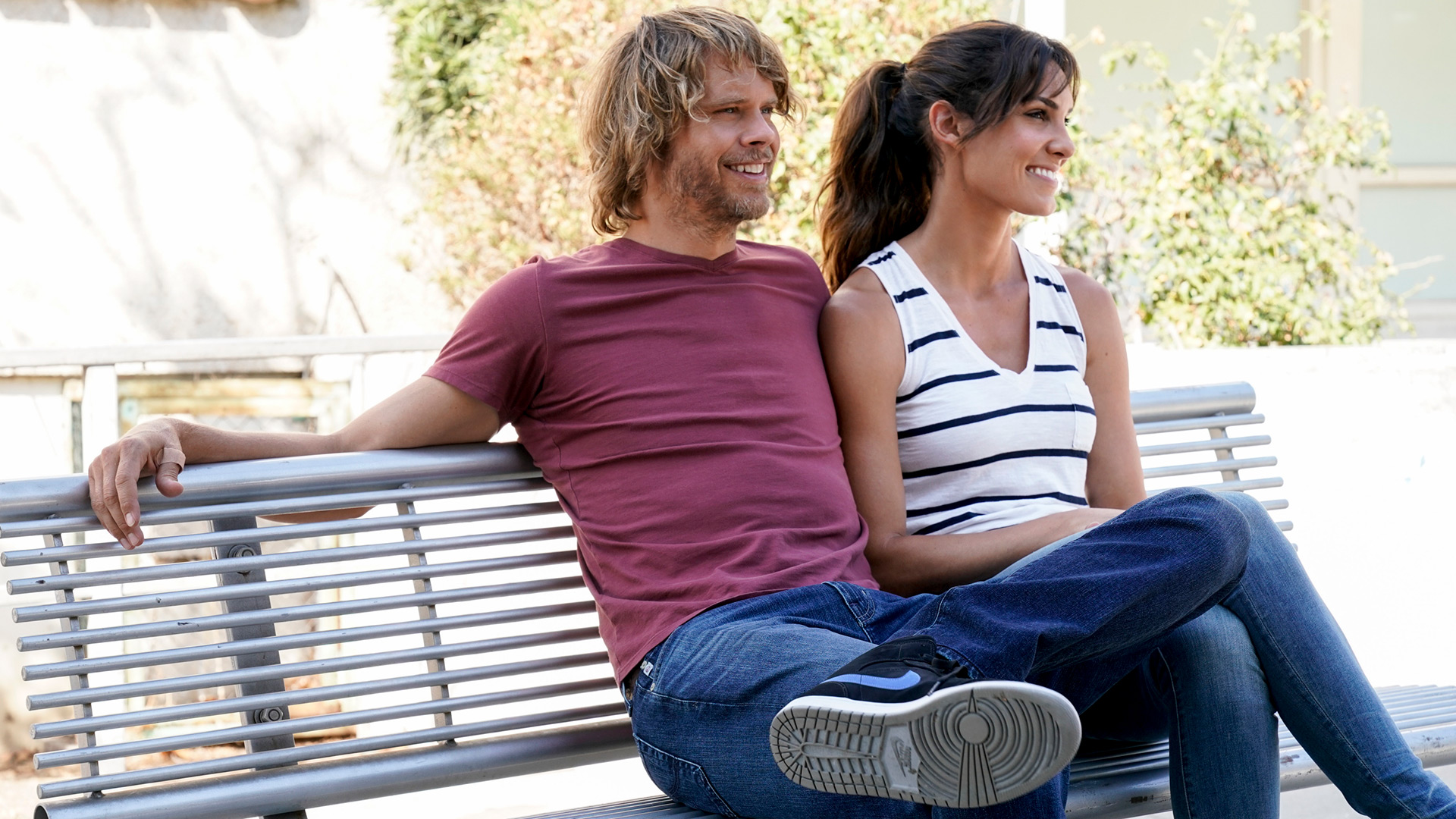 Marty Deeks and Kensi Blye