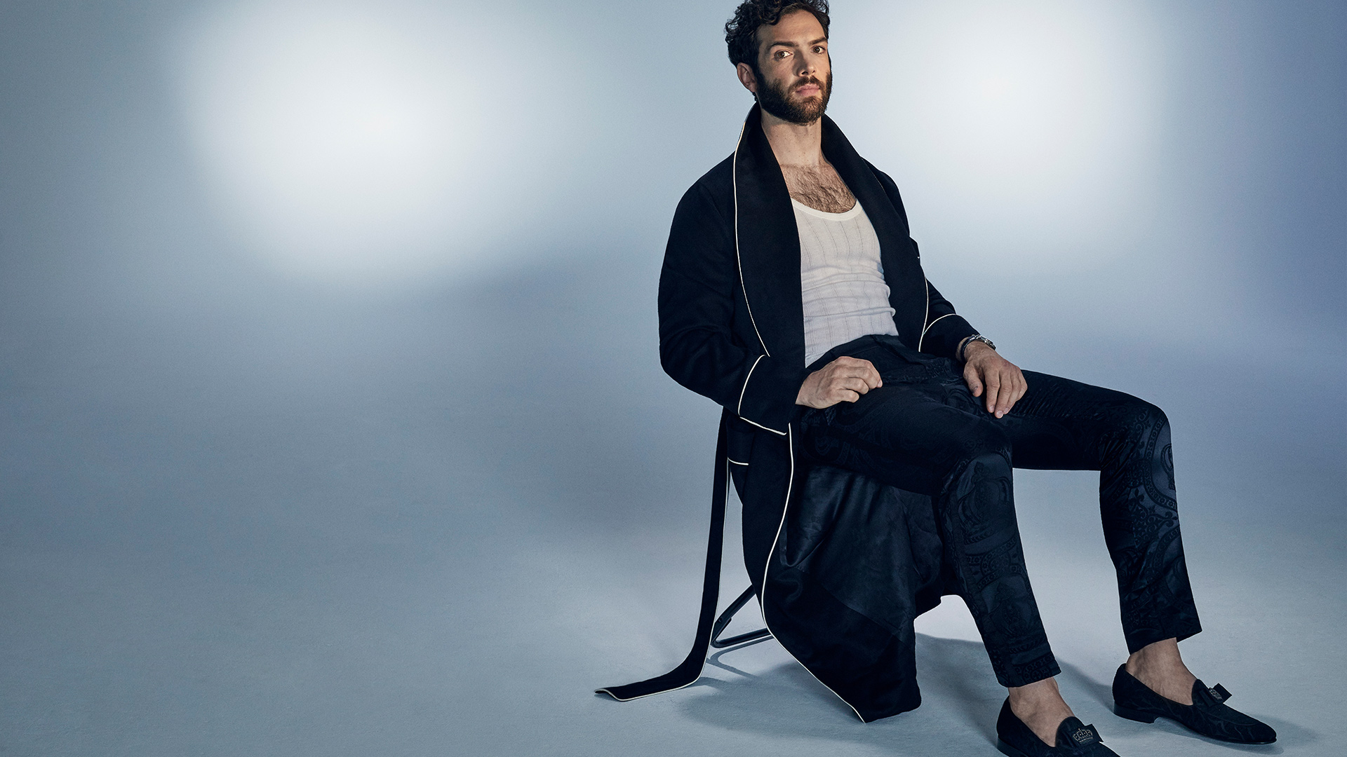 Ethan Peck is relaxed in spite of it all