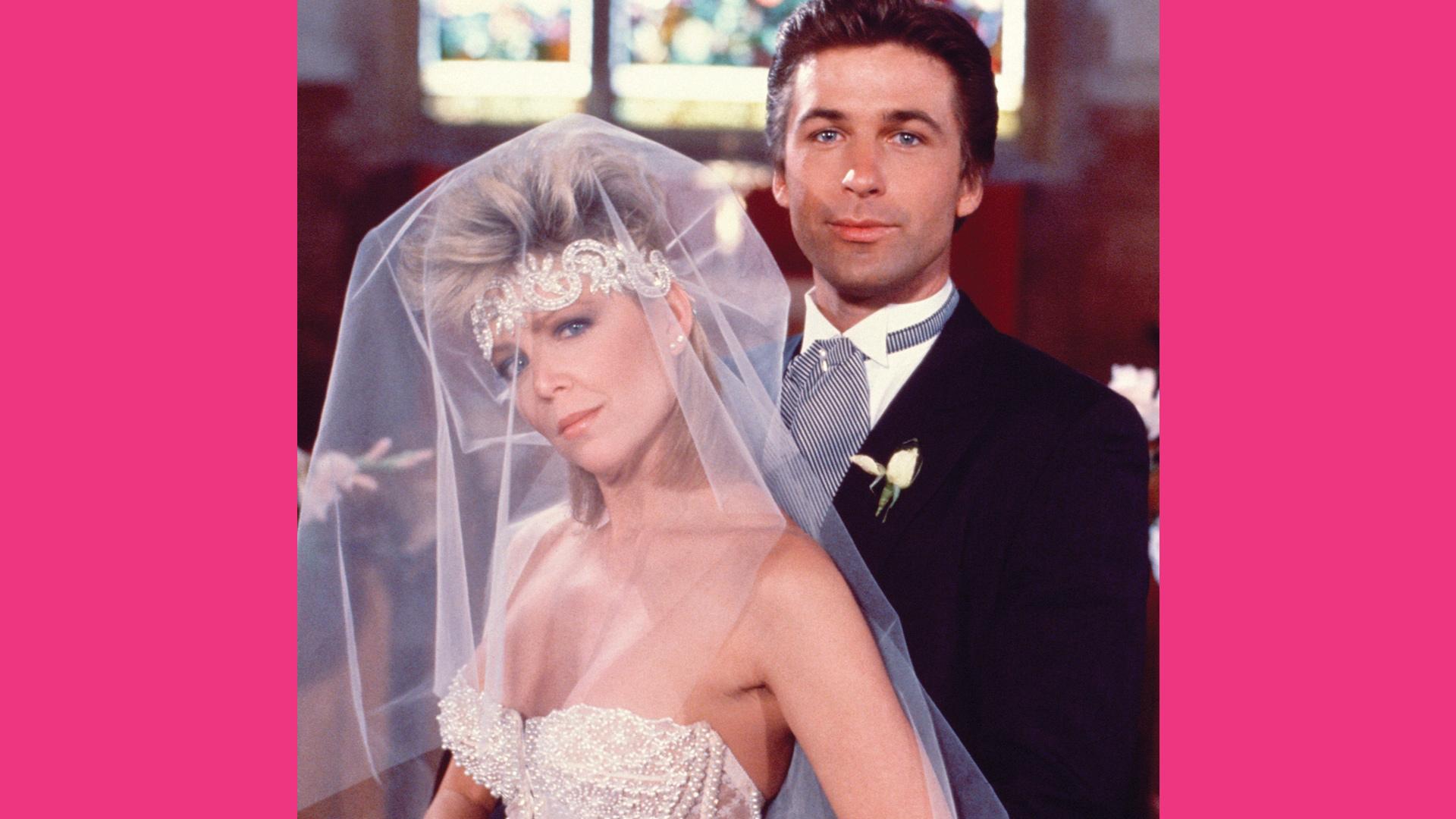 Lisa Hartman as Cathy Geary and Alec Baldwin as Joshua Rush