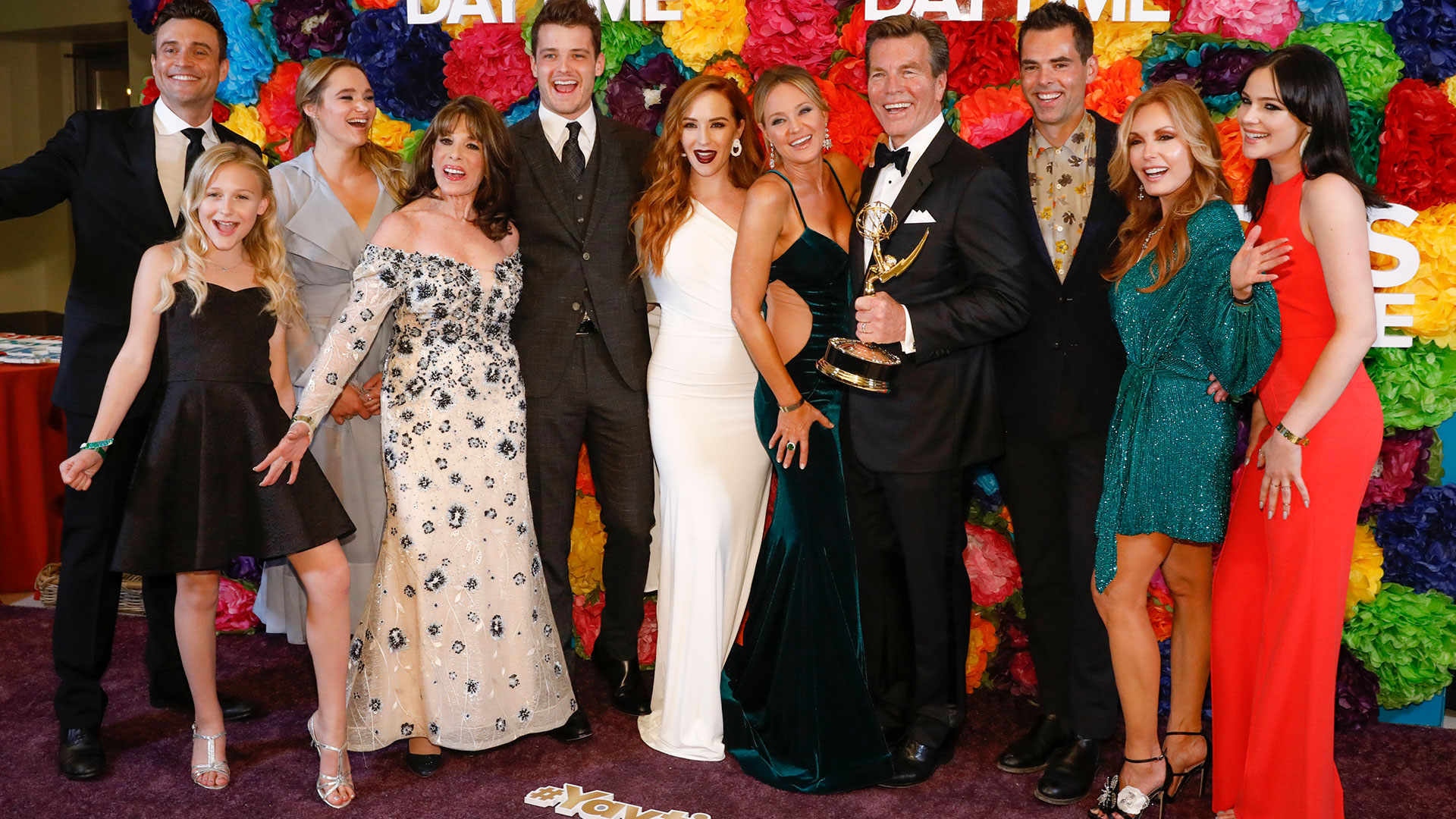 The cast of Y&R celebrates success and dishes on their dreamy Daytime gigs