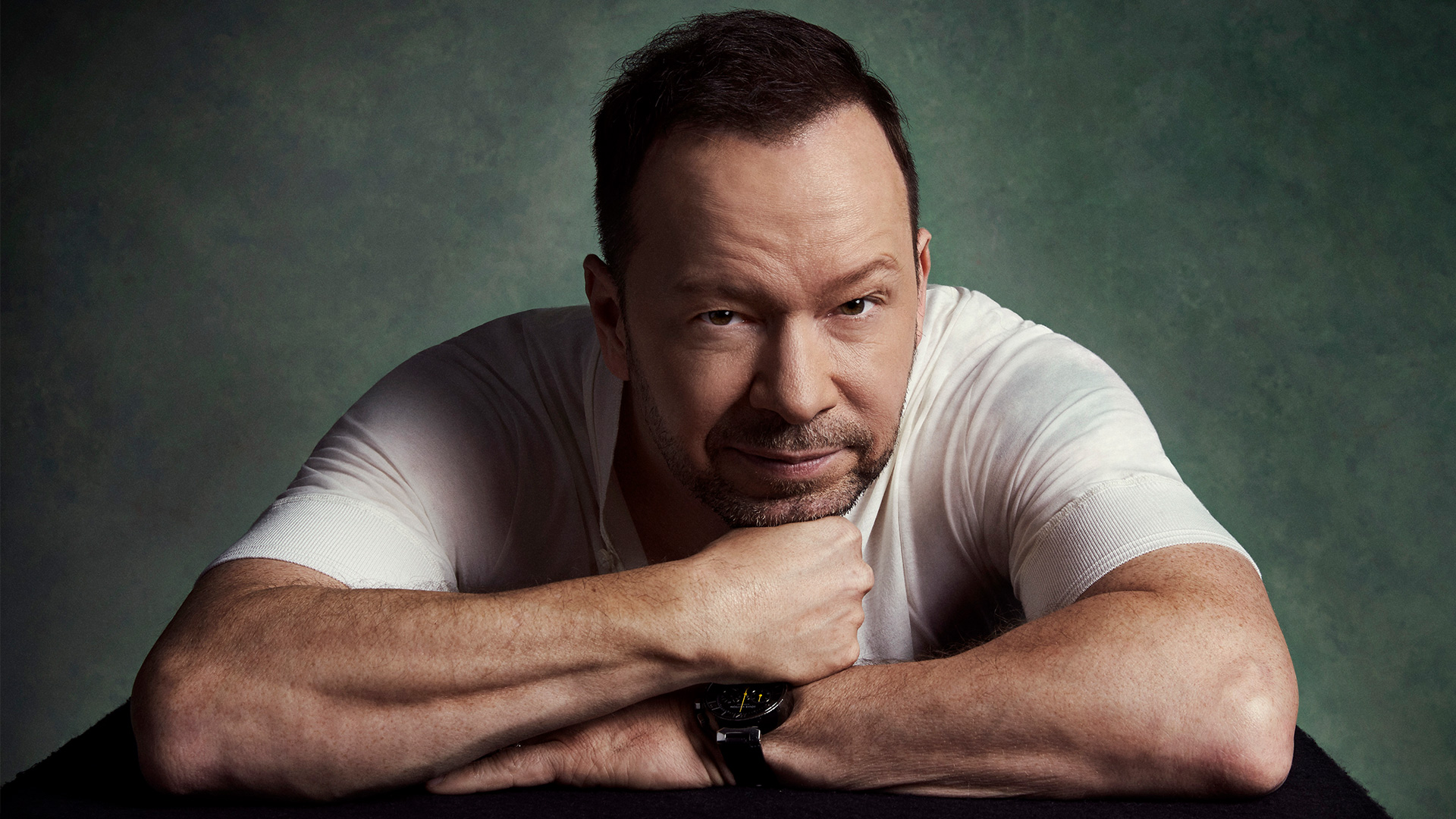 Donnie Wahlberg leads with his heart