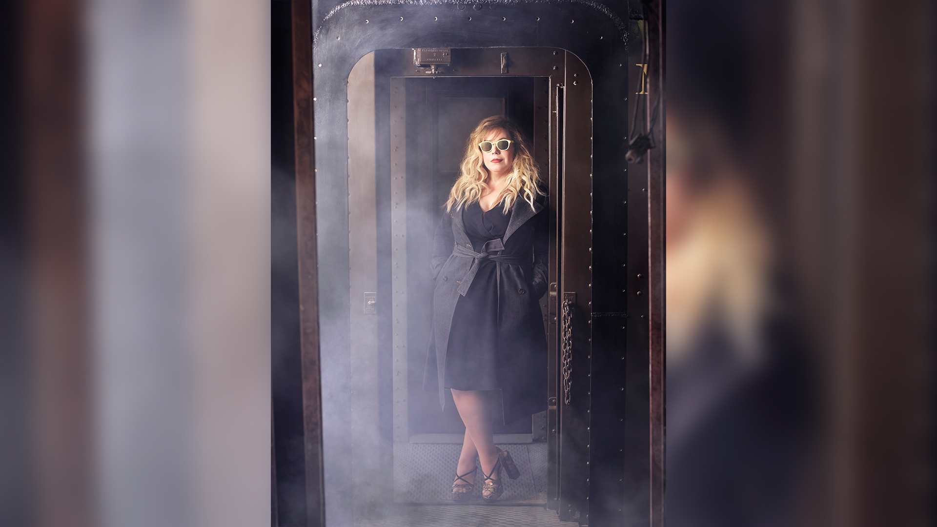 Kirsten Vangsness, and her Criminal Minds co-stars, celebrate the end of the line in style