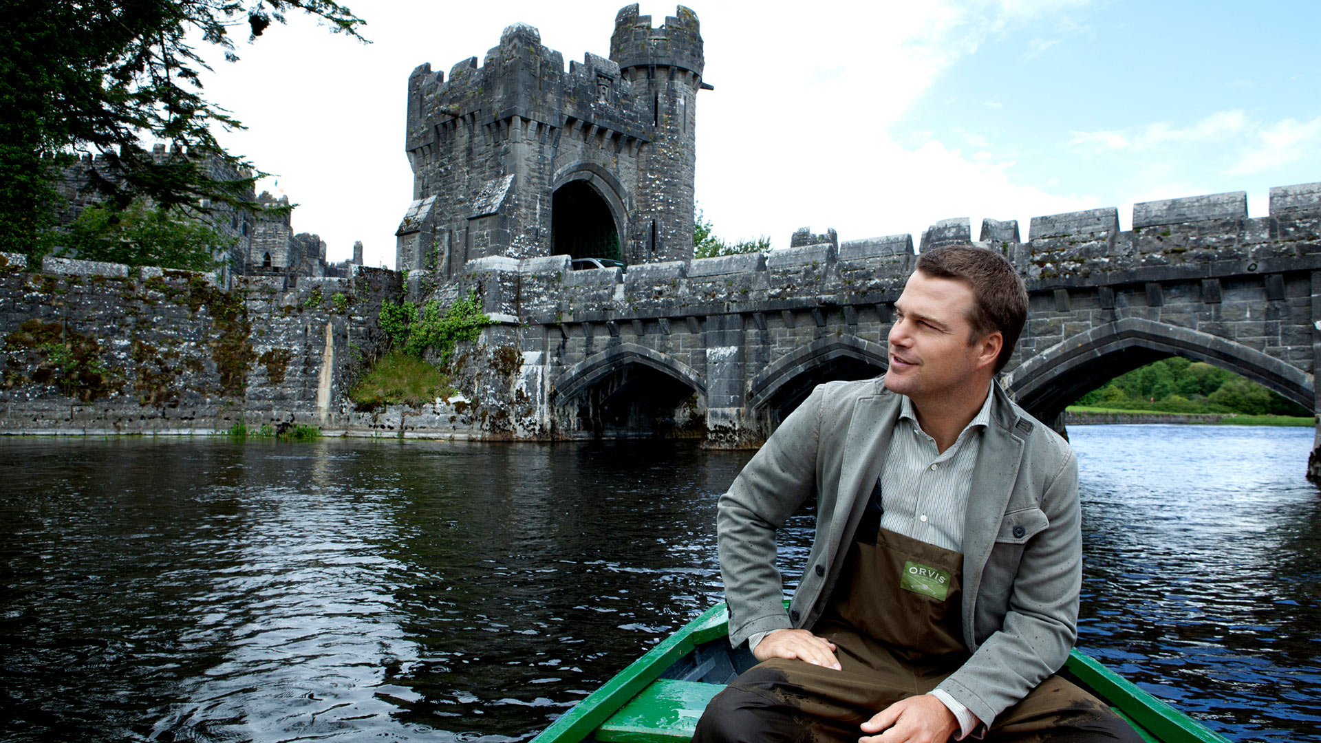 Chris O'Donnell channeling his roots