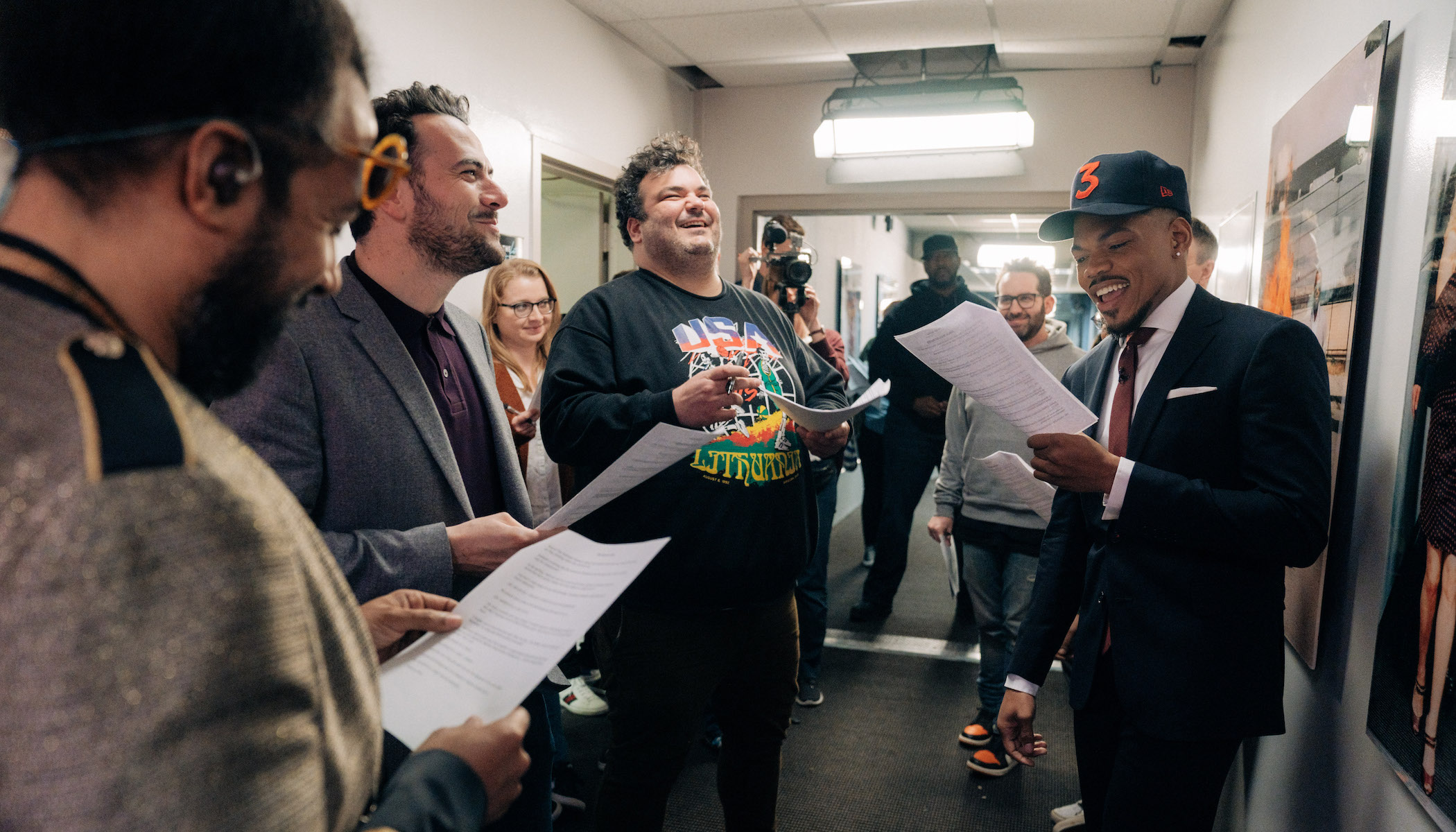 Some Pre-Show Laughs