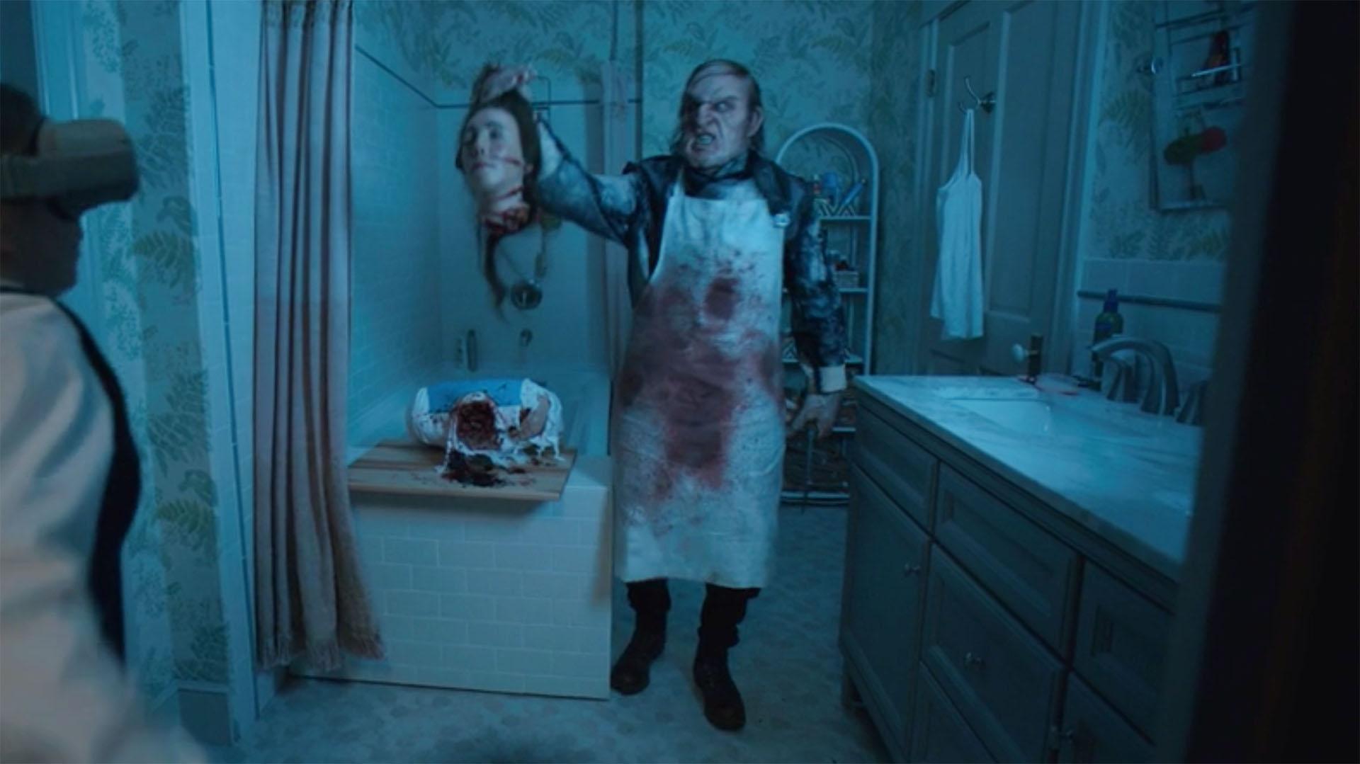 Scott Ian as the Butcher