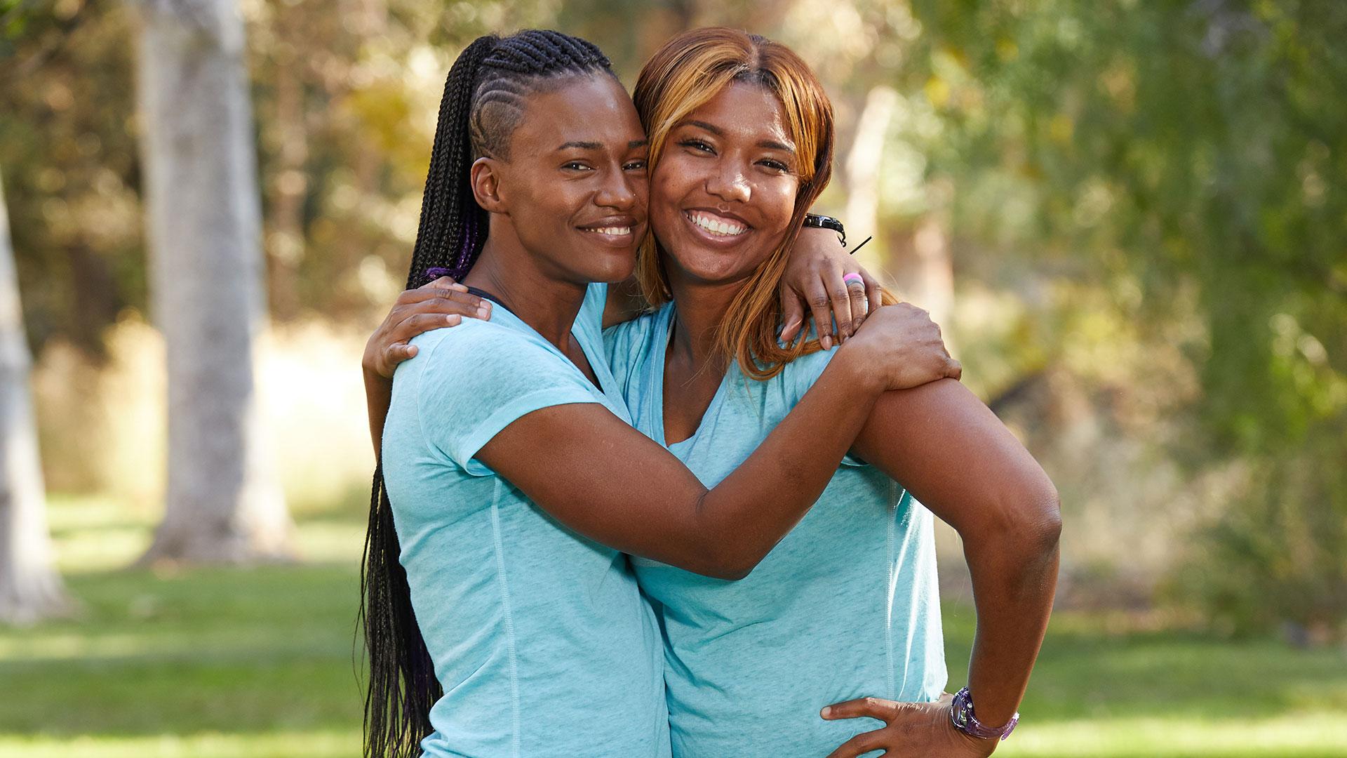 Kellie and LaVonne (Olympic hurdlers)
