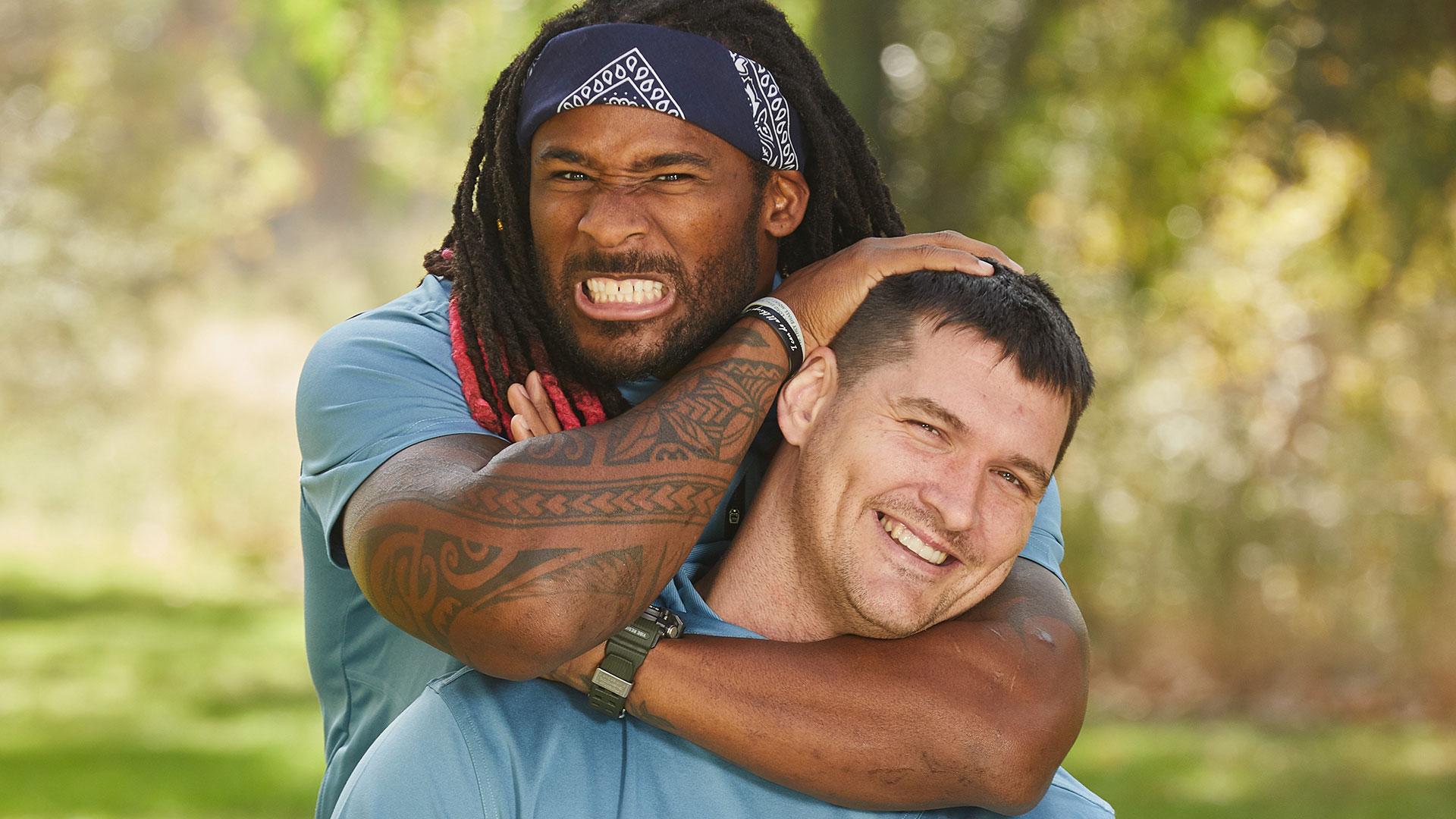 Gary and DeAngelo (former NFL stars)