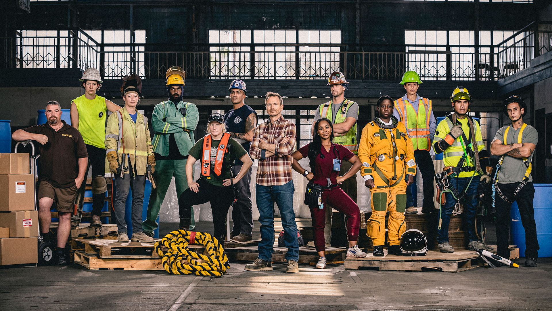 Don't miss the season premiere of Tough As Nails on Wednesday, Feb. 10 at 8/7c on CBS and CBS All Access.