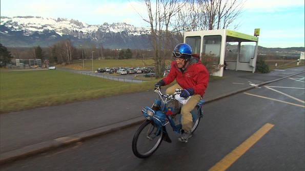 Gary on a Bike