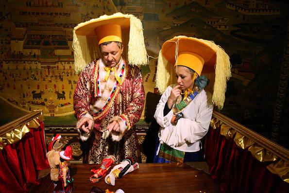 Gary and Mallory Watch a Tibetan Performance