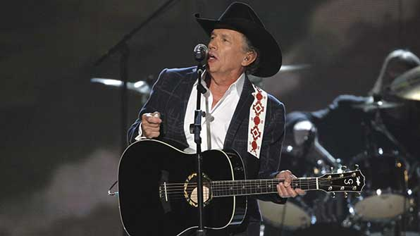 George Strait is the reigning ACM Entertainer of the Year.