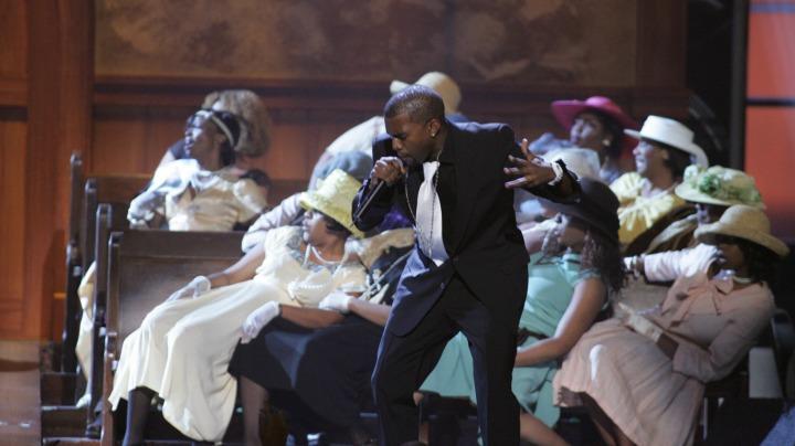 Kanye West, John Legend, Mavis Staples, and The Blind Boys Of Alabama (2005)