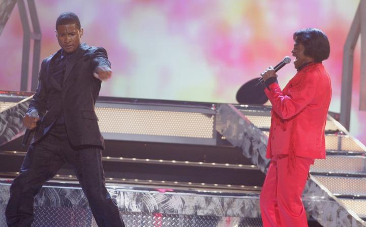 Usher and James Brown (2005)