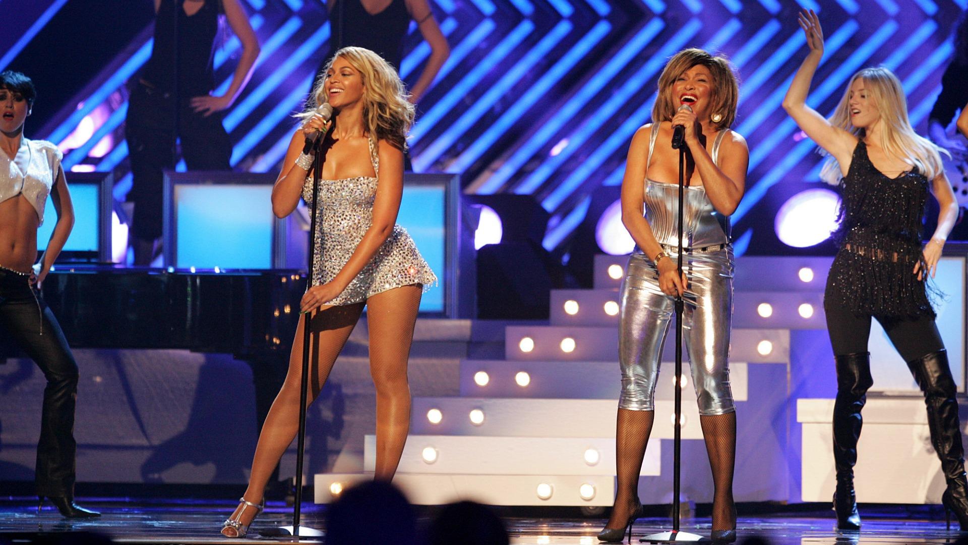 Beyoncé and Tina Turner (2008)