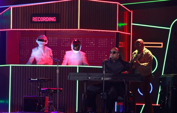 Pharrell, Daft Punk, Stevie Wonder, and Nile Rodgers (2014)