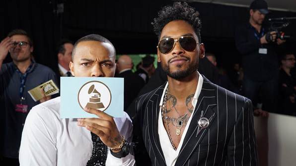 GRAMMYs 2016: Shad Moss and Miguel
