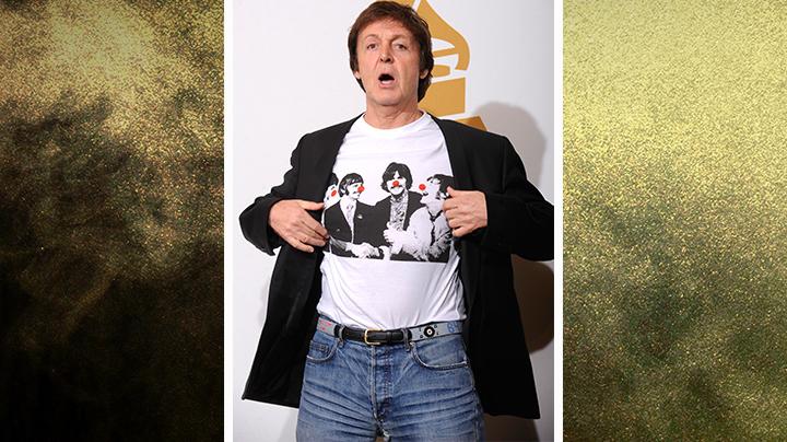Sir Paul McCartney!