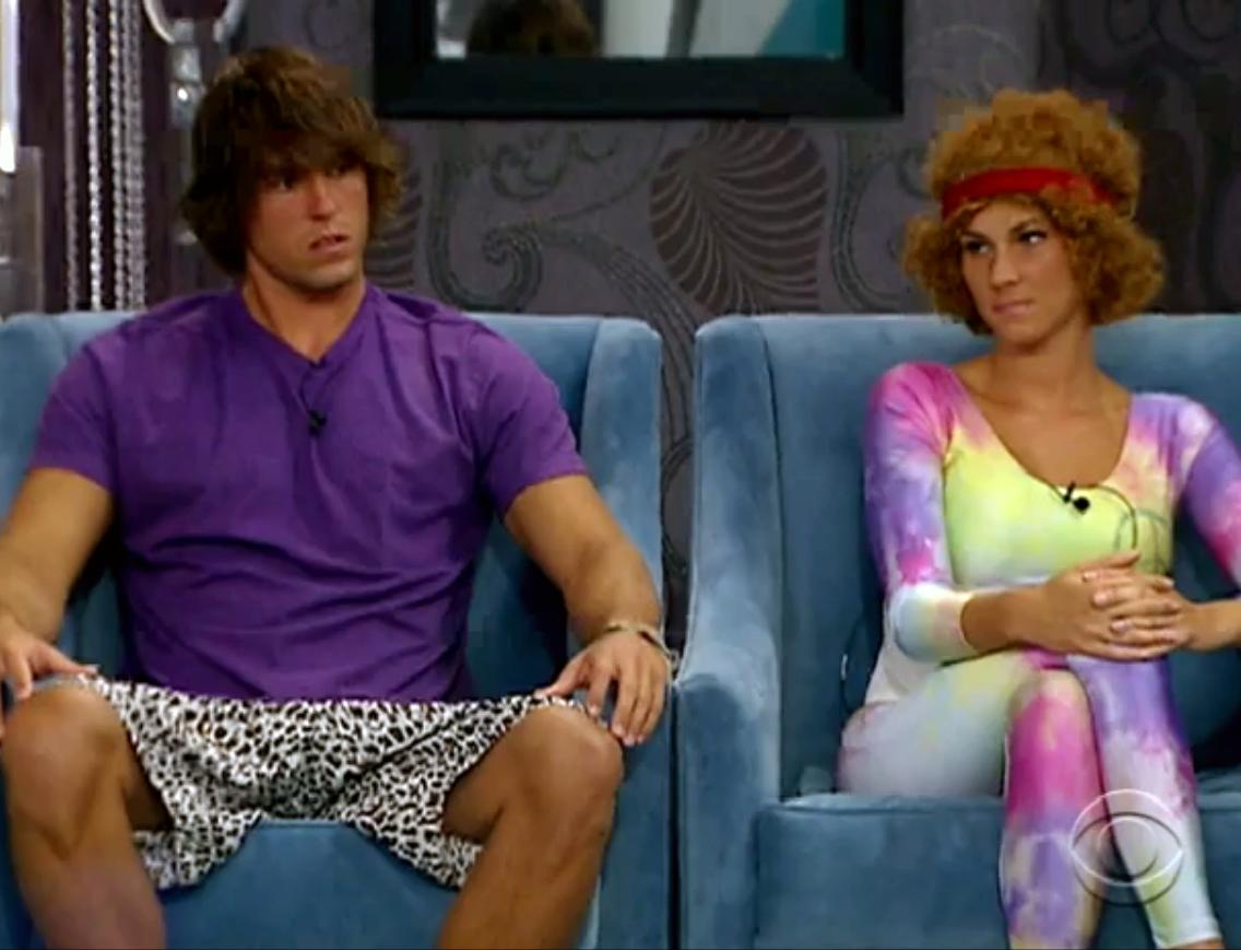 Hayden and Kristen (Big Brother 12)