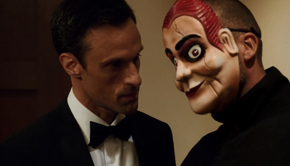 8. Creepy mask