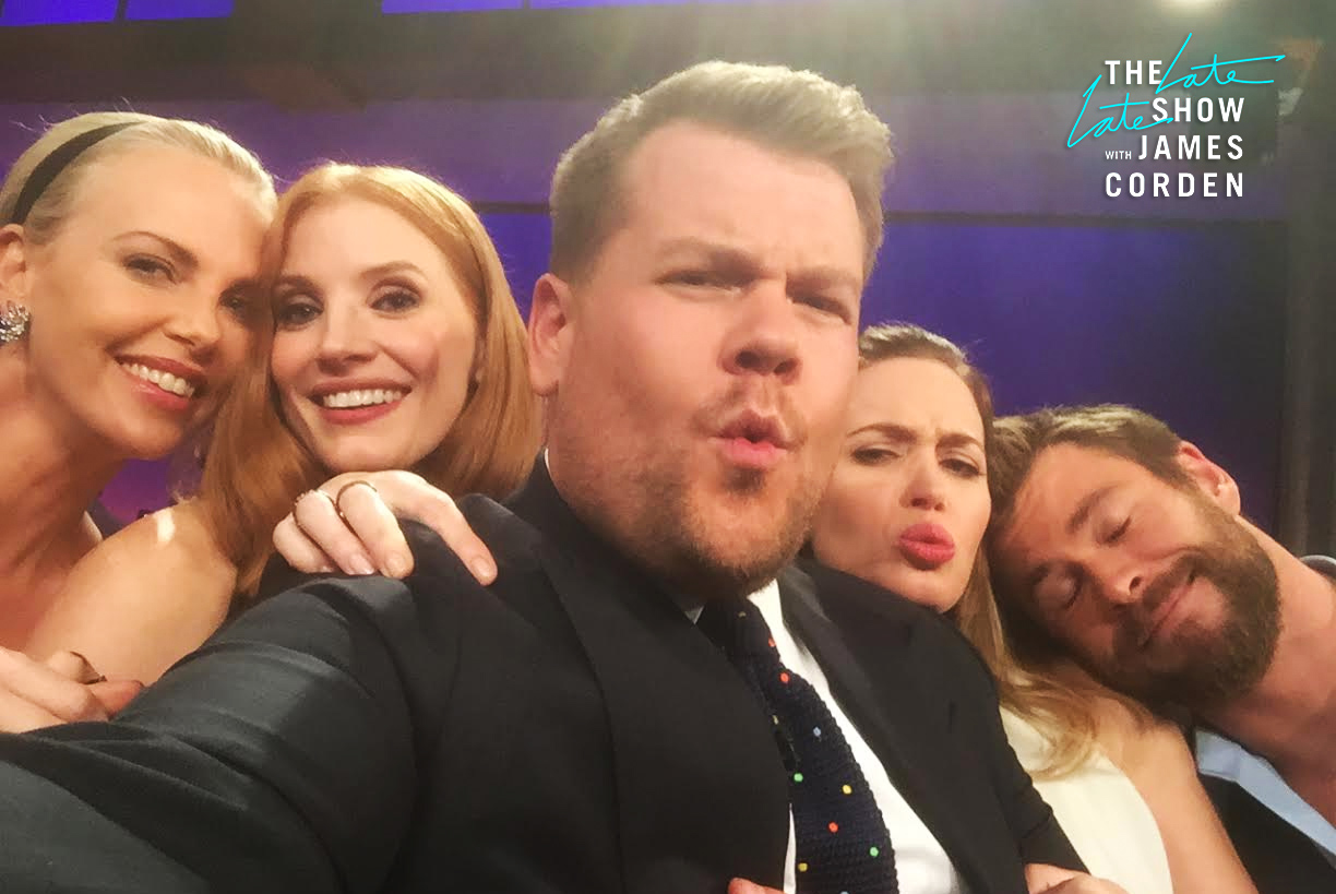 Charlize Theron, Jessica Chastain, Emily Blunt and Chris Hemsworth