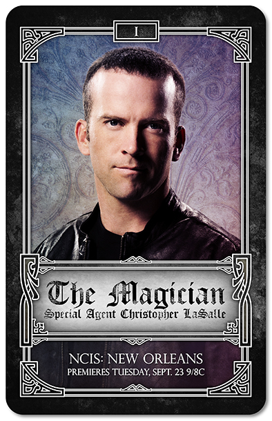 NCIS New Orleans Tarot Cards - The Magician