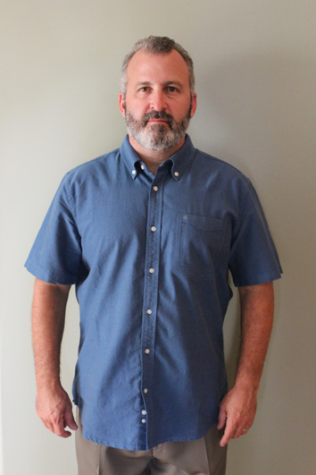 Greg Adler shares his everyday look before receiving an Undercover Boss makeover.