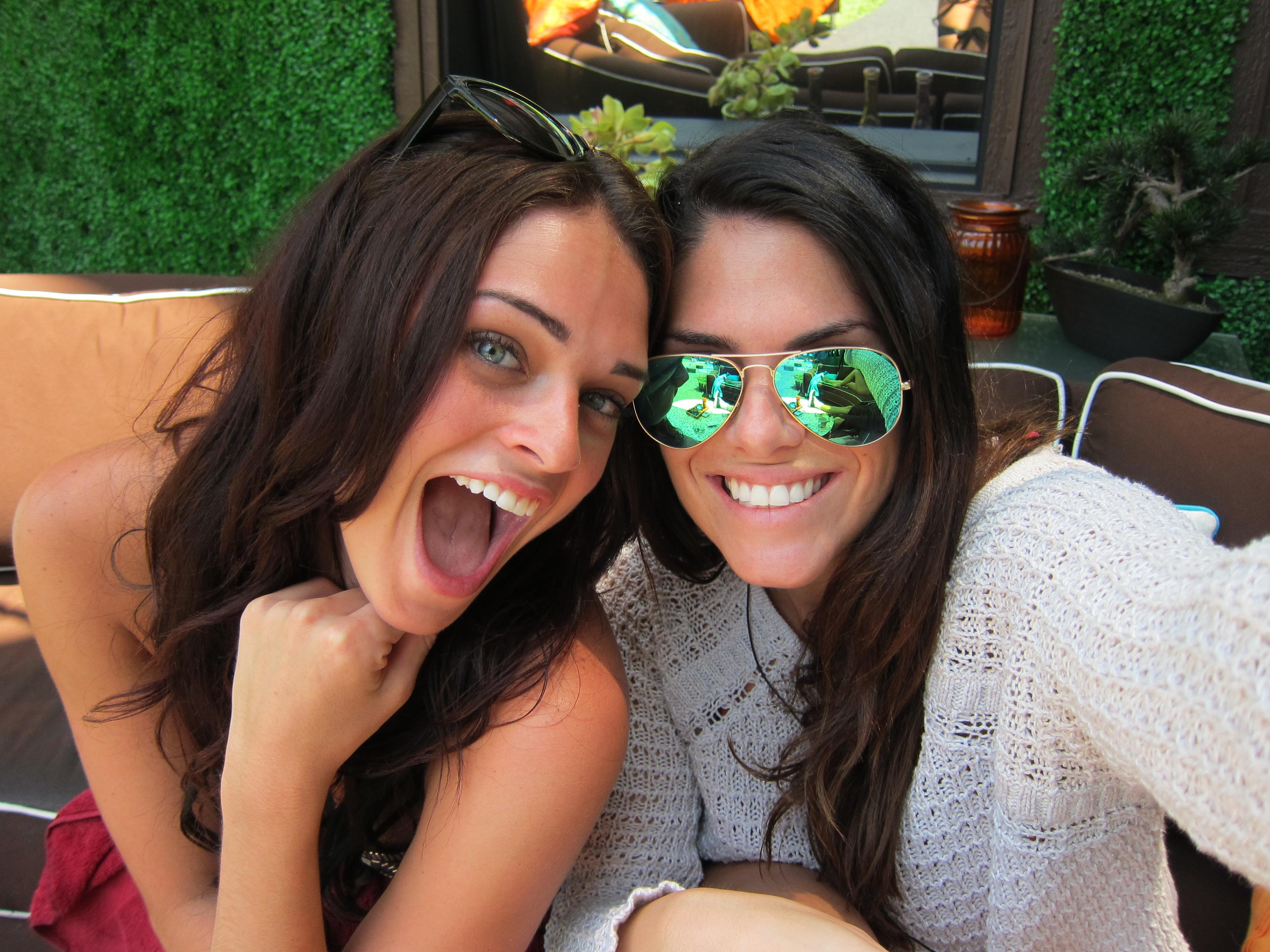 Kaitlin and Amanda
