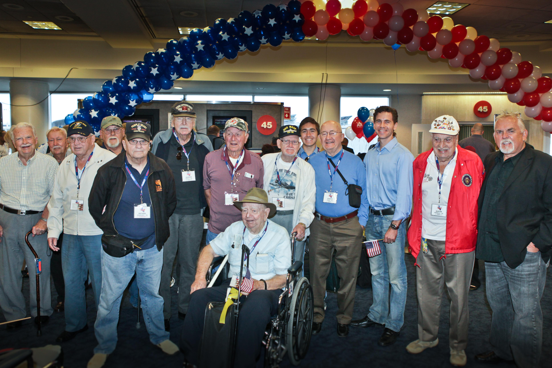 Brian Dietzen Celebrates Flag Day